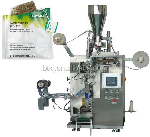 Durable Omron PLC control Double Chamber loose leaf Green teabag packing making machine