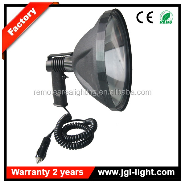 Best outdoor seaching 9 inch 12V 100W Portable Hunting Halogen lamp spot light Work Lamp Spotlight Cigarette Light