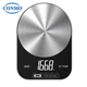 Mini Tare Feature Glass Food Smart Digital Kitchen Scale