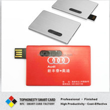 1mm Thick Business Card 2g/4g/8g/16g/ USB Business Card With Logo Printing