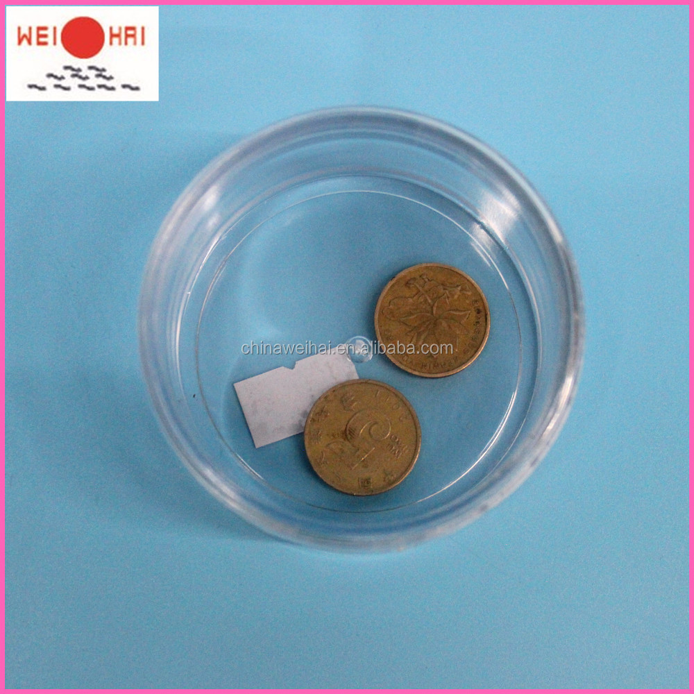 Plastic Coin Collection Box