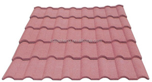 JC Roof design for house Stone coated metal roof tile Classical roofing tile