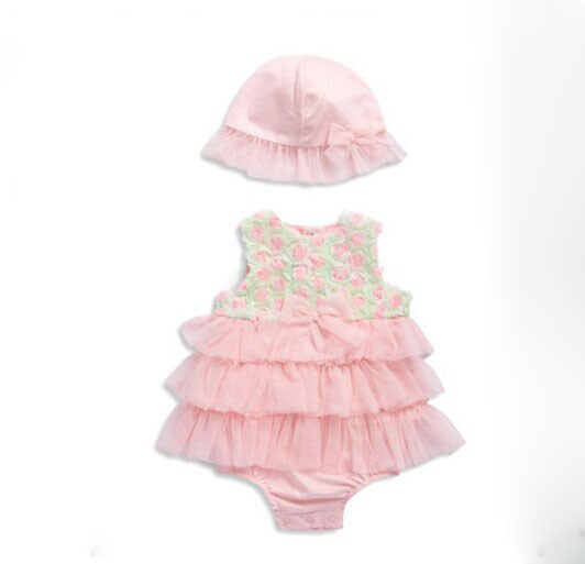 2016 fancy new modern designs baby/infant girls boutique style fashion party dress