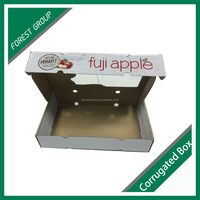 CUSTOM MADE CORRUGATED PACKAGING AND SHIPPING BOX FOR APPLE