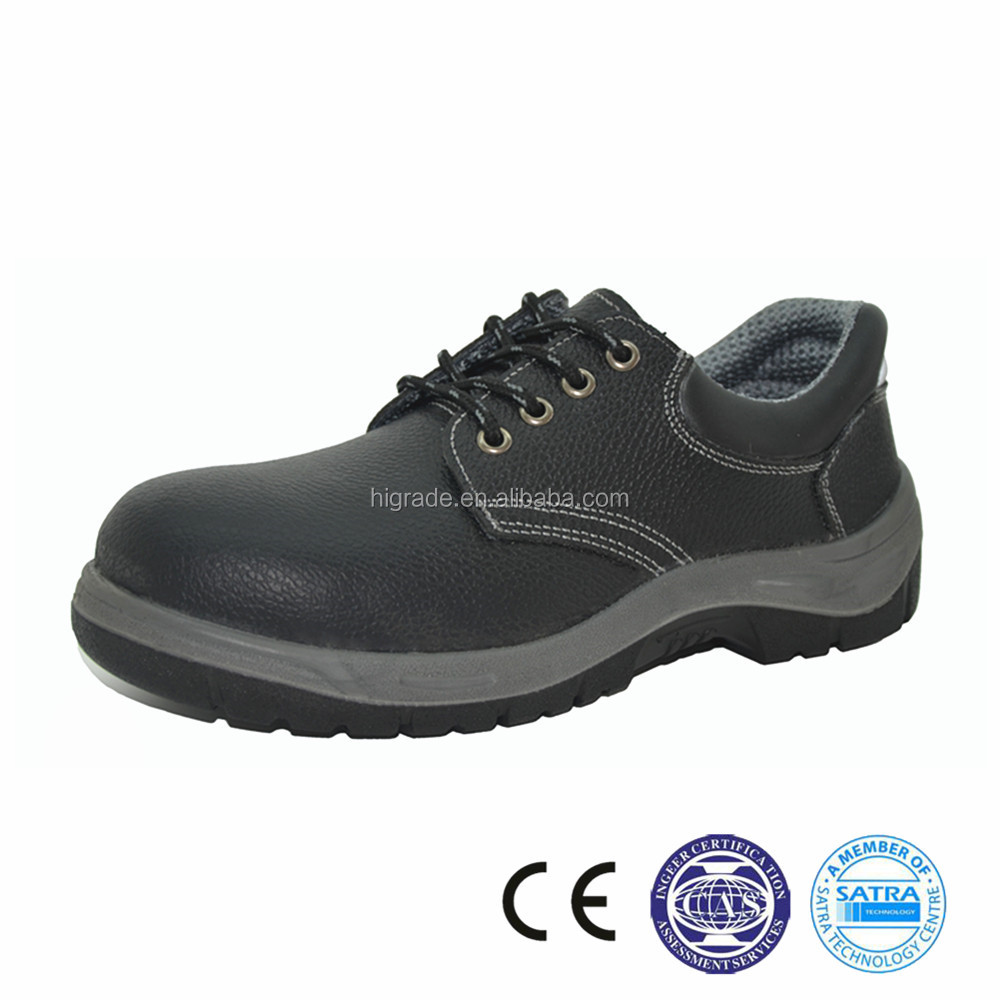 211029 China Genuine leather factory PU outer sole for men safety <strong>shoes</strong> price