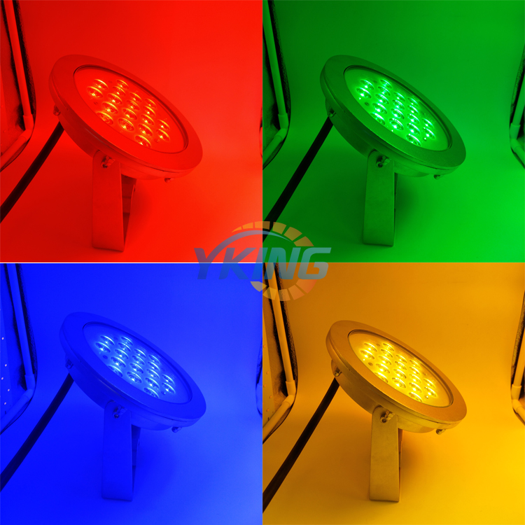 Resin Fully Pool Light Led Rgb Blue 316 Stainless Steel Ac 12v Underwater Lights Lampara Ip68 Waterproof 10w 12w 18w Ce Rosh Led Lamps