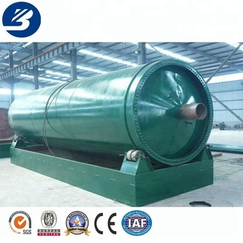 Low price automatic waste tire recycling equipment pyrolysis to fuel