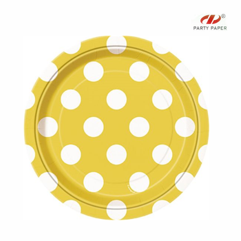 custom printed offset printing paper plate disposable cups and plates polka dot paper plates  sc 1 st  Alibaba & Custom Printed Offset Printing Paper Plate Disposable Cups And ...