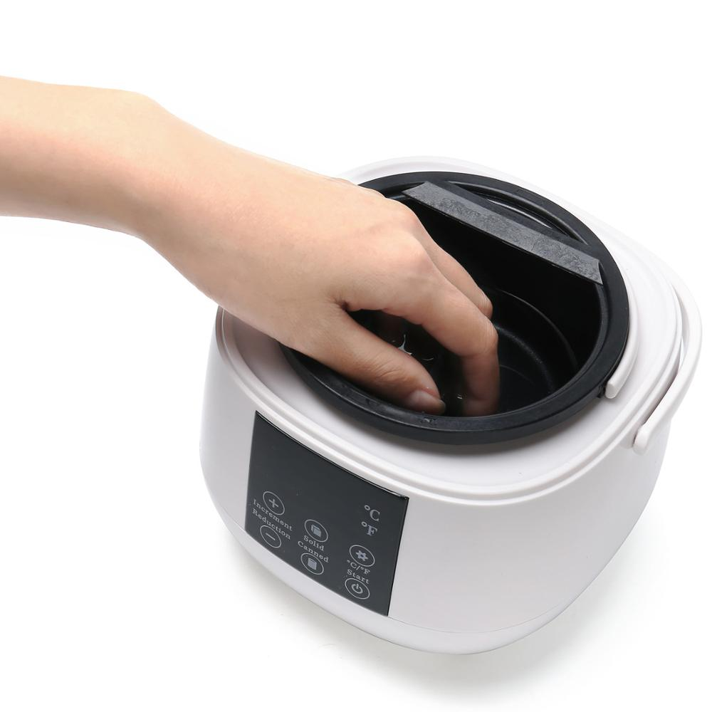 Smart wax machine Non-stick pan wax heater for bee pearl hair removal paraffin hot hard depilatory