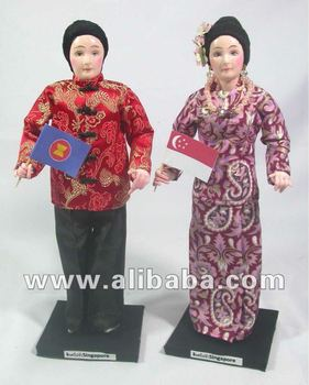 What is the traditional costume of Singapore?