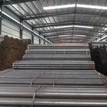 Construction Material ASTM A53 Schedule 40 Galvanized Steel Pipe/Zinc Coating 60-400g/m2 GI Steel Tubes With High Quality