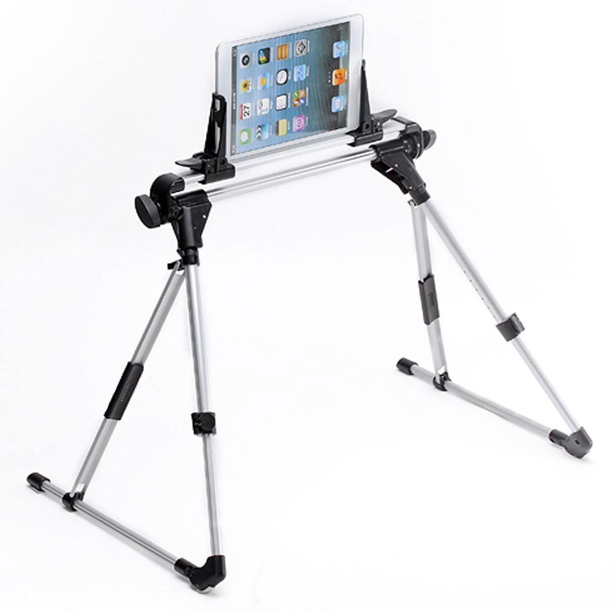 Betterhill Tablet Bed Frame Adjustable Tablet Holder Stand for iPad 1/2/3/4,iPad 5/iPad Air,iPad Air2/iPad6,iPhone,Samsung Galaxy Tab,Huawei MediaPad,Google Nexus,Blackberry Playbook,Microsoft Surface