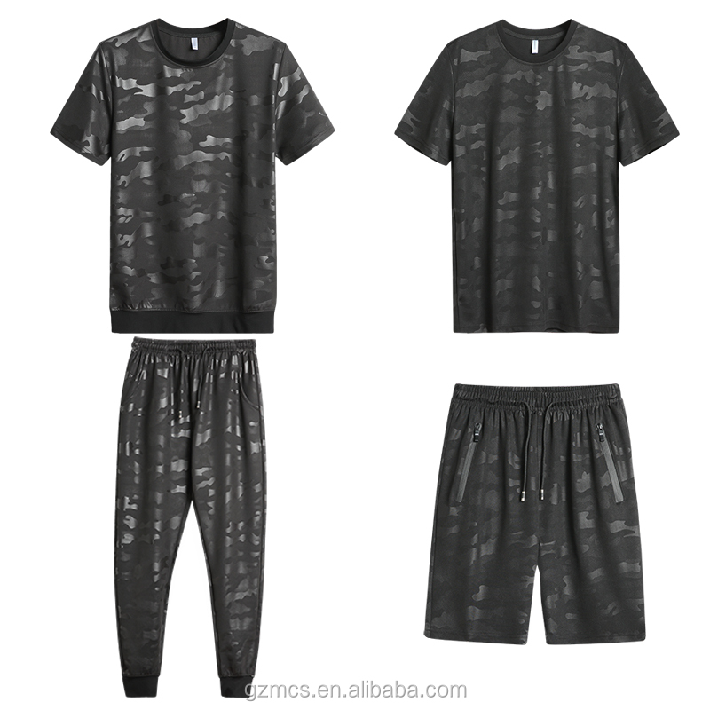 Custom Men's Tracksuit Wholesale Summer Activewear Sets China Clothing Supplier