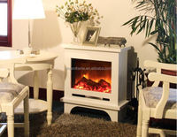 Competitive price low noise electric fireplace insert heater