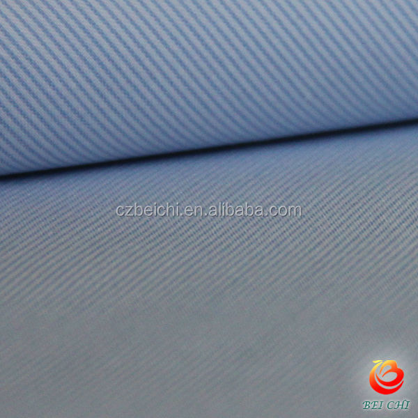 cotton nylon yarn dyed span fabric