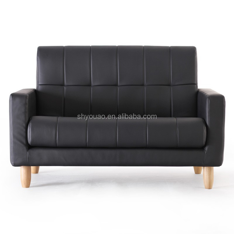 folding wide seat sofa /pu sofa B265