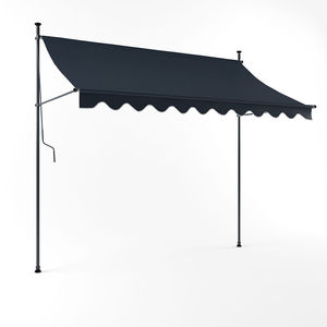 New Design Windproof Retractable Free Standing Height Adjustable Awning
