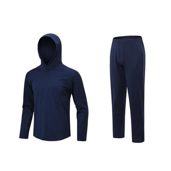 Latest Design Mens Sports Tracksuit Super Cool Causal Sweat Suit Fast Dry Male Fitness Activewear Sets
