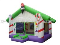 Best 0.55 PVC tarpaulin colorful combo game/bouncy castle