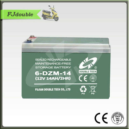SMF Best 6-DZM-14 Battery with Eelectric Bike Battery Charger