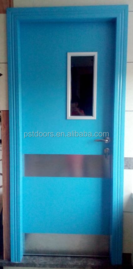 metal flush door with steel edge