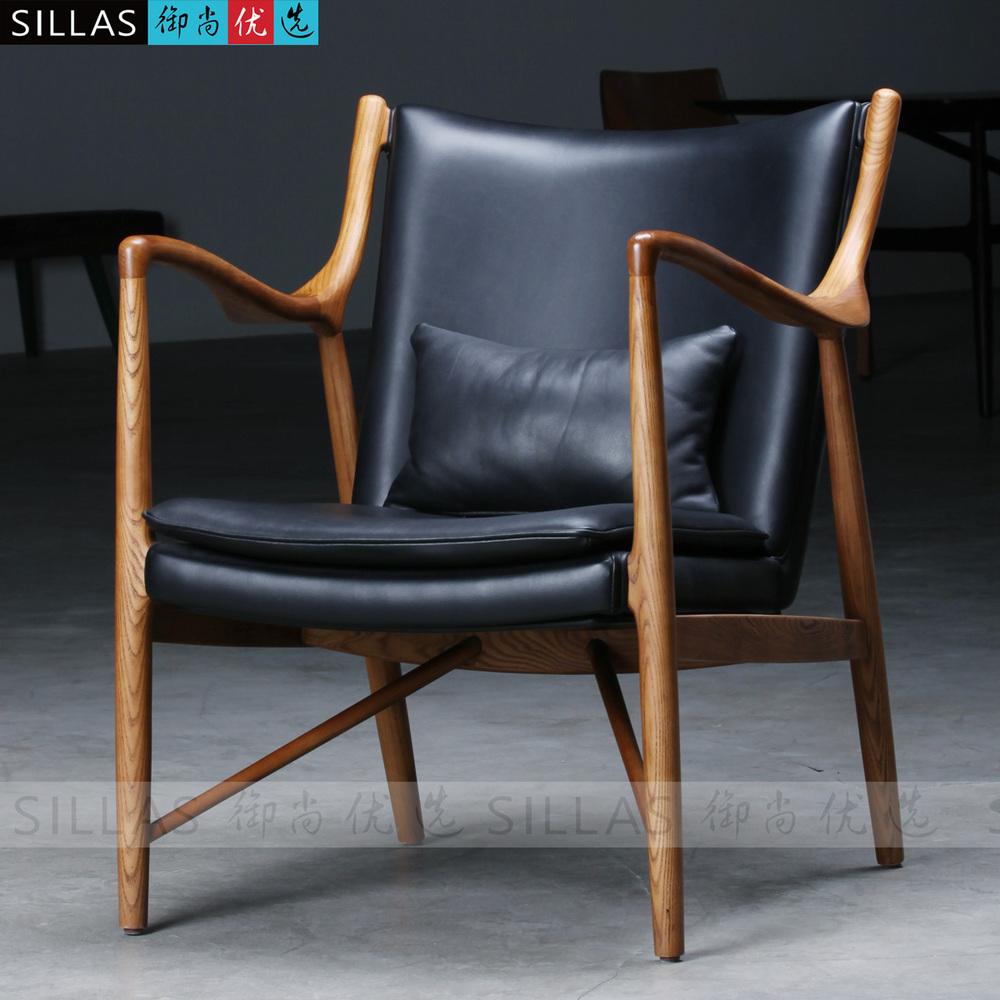 Lounge Sessel Holz Leder Https Travelshq Com