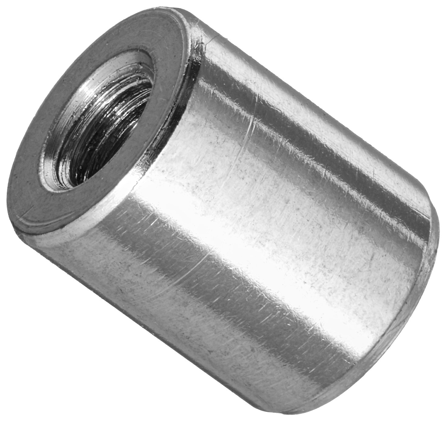 Hex Coupling Nuts//Steel//Zinc // 200 Pc 1//2 AF 5//16-18 X 7//8 Carton