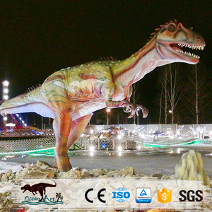 OA J8146 Hot Sale Outdoor Fiberglass Simulated Dinosaur Models