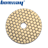 Multi size Flexible Dry Polishing Pads for Concrete cement stones for stone