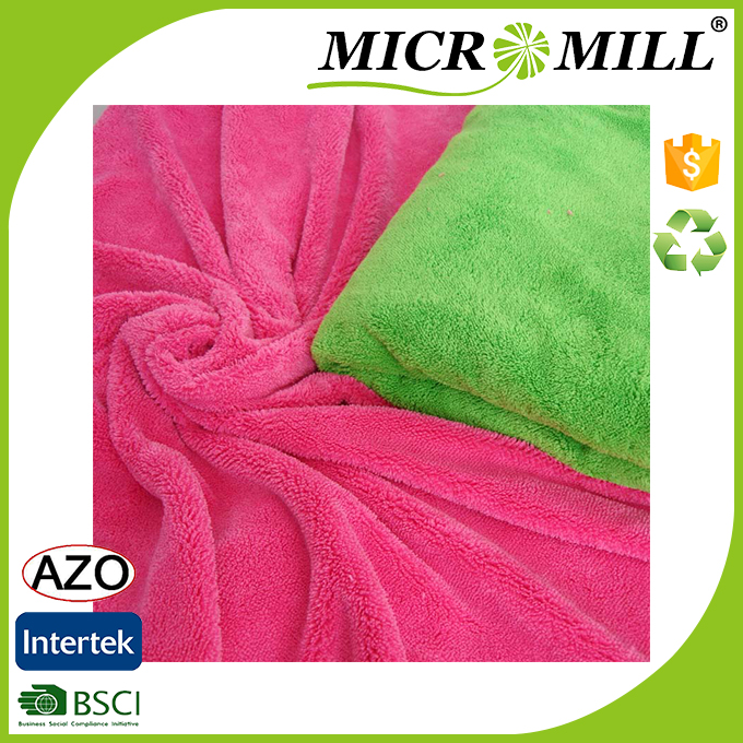 Printed fleece fabric anti-static, factory supply 100 polyester fleece fabric