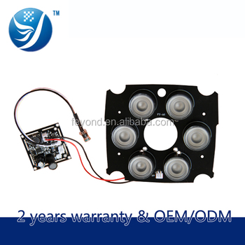 High Power 6 Ir Led Board Cctv 850nm Night Vision For Big Bullet Camera  Fy-a6 - Buy Ir Led Board Cctv,High Power Ir Led Board Cctv,Feyond Ir Led  Board