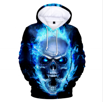 No Moq Wholesale Custom Cheap Made 3d Printed Hoodies