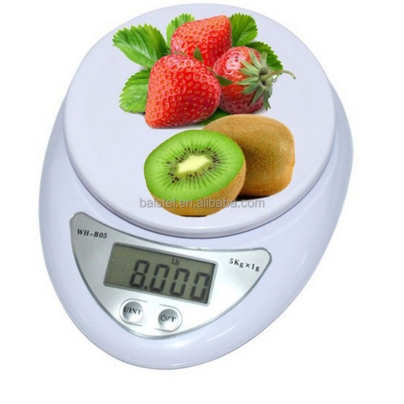 Digital scale 2016 5000g/1g 5kg Food Diet Postal Kitchen Scales balance Measuring weight electronic scale