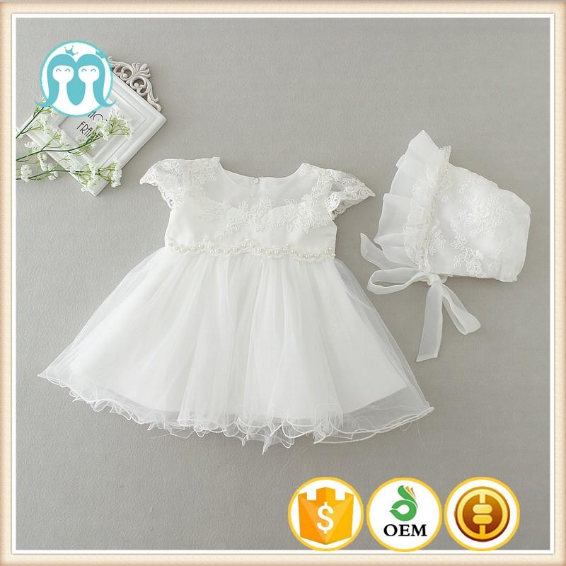 32744ab0cb 2017 boda bebé niña vestido infantil de princesa niñas 1 año vestido de  fiesta de cumpleaños