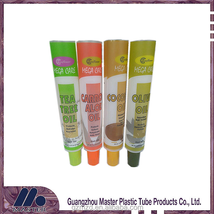 mustard packaging plastic tubes with caps food grade