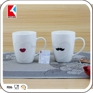 High Quality Cheap Price New Bone China Print On Mug Porcelain Wholesale