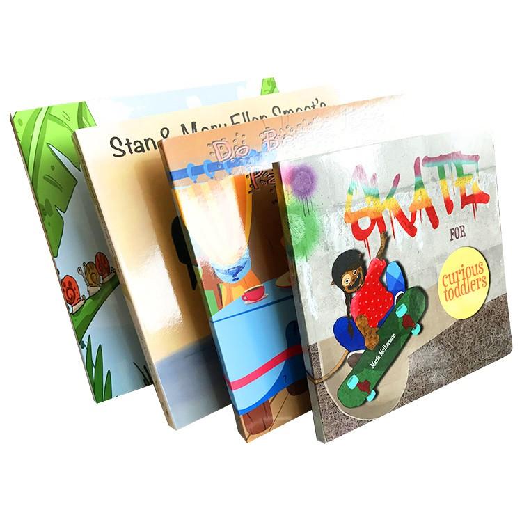 Ở Nước Ngoài Tùy Chỉnh Các Tông Dày Trẻ Em Hội Đồng Quản Trị In Ấn Cuốn Sách Theo Yêu Cầu