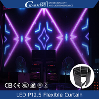 Portable Slim LED Curtain Screen Wholesale Price led display software download