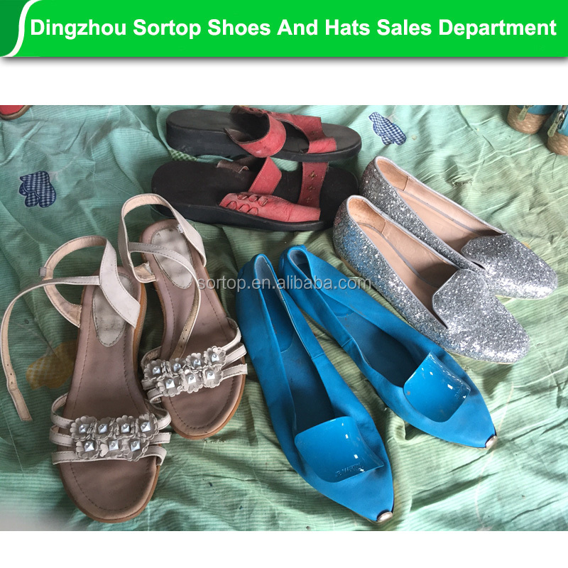 Used shoes women lady fairly ladies fashion high heels used shoes