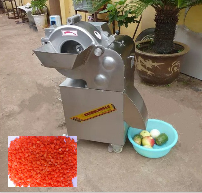 fruit and vegetable dicing machine for potato/onion with high speed