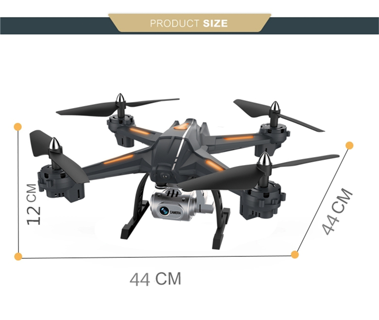 RC Plane Drone Professional with hd Camera,2.4GHz Radio Control Toys Unmanned Aircraft Remote Control Helicopter/Quadcopter