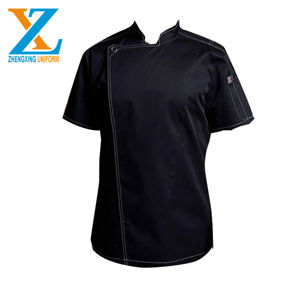 Latest design High quality chef jacket Soft comfortable hotel uniforms for restaurant and bar