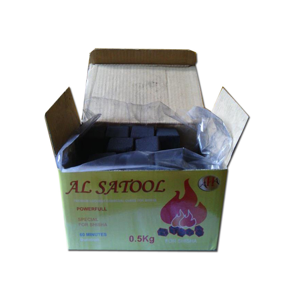 Hoongqiang Cube Cocobrico Coconut Shell Charcoal for Hookah