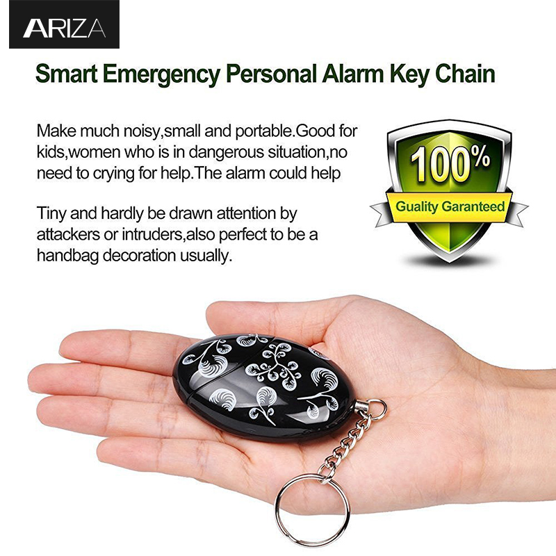 Women Personal Alarm Mini Anti Rob Alarm Bell 100db Self-protection Alarm Portable Guard Safety Security Alarm Fc Superior In Quality