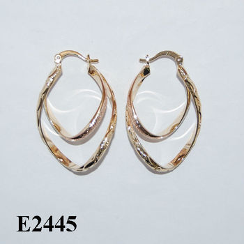 Book Of Earrings For Women Gold Designs 2014 In Spain By