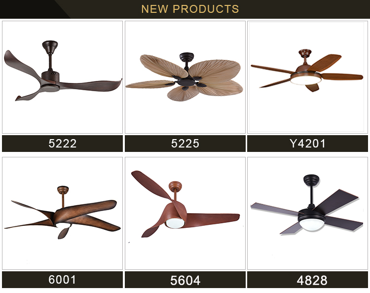 52 Inch Decorative Lighting Ceiling Fans Chandelier Ceiling Fan