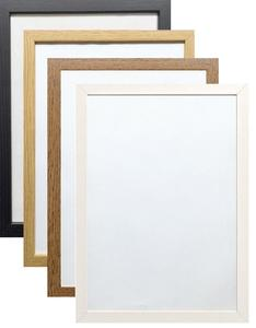 Poster Frame Modern Picture Frame Wood Effect Various Square Sizes brass frame