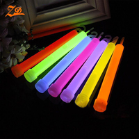 15x150mm brightly hook chemical glow stick for concert or party cheering
