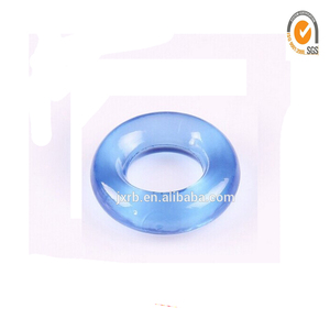 Hot sale factory price vibrating magnetic female men penis silicone rub cock ring