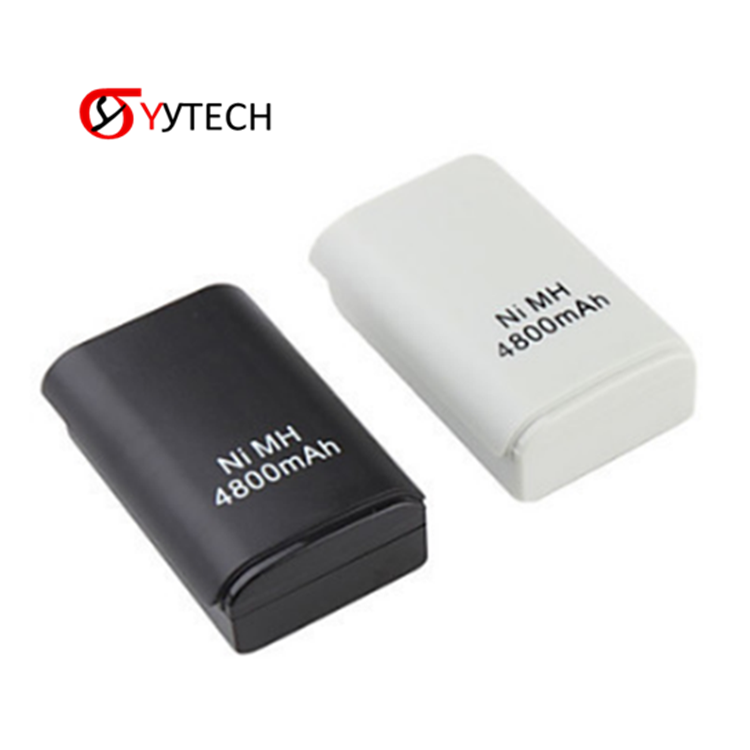 SYYTECH New Handle controller battery 4800mAH rechargeable battery pack For X BOX 360